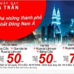 Vé máy bay giá rẻ tại Đà Nẵng, Hà Nội, TP HCM đi các nước Đông Nam Á