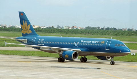 A320 của Vietnam Airlines