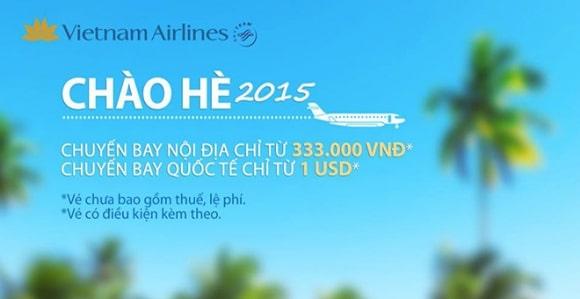 """Chương trình khuyến mãi """"Chào Hè 2016"""" của Vietnam Airline"""