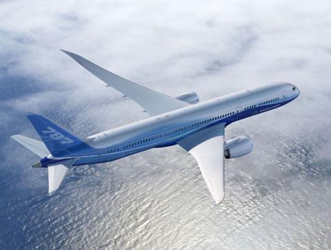 Boing 787 với 28 ghế hạng thương gia
