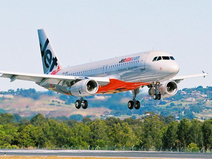 A320 của hãng hàng không Jetstar