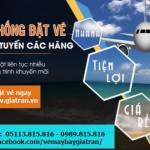 Thanh toán, nhận và sử dụng vé máy bay điện tử