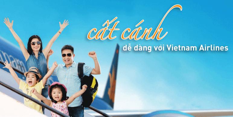 vé máy bay vietnam airline