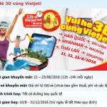 Khuyến mại – Vui Hè 3D cùng Vietjet!