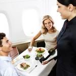 Những bữa ăn trên máy bay hấp dẫn nhất