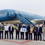 Vietnam airlines nhận Boeing 787-9 Dreamliner thứ 10